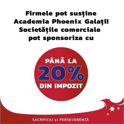 Sponsorizează Academia Phoenix